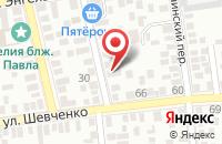 Схема проезда до компании Энергостройсервис в Таганроге