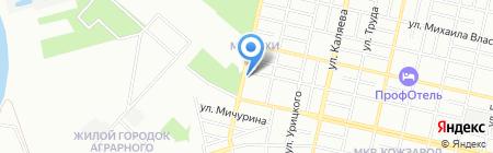 Flash на карте Краснодара