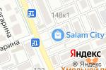 Схема проезда до компании Магнит-косметик в Яблоновском