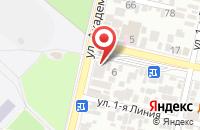 Схема проезда до компании Фирма «Югвессервис» в Краснодаре