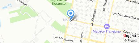 BeloGera на карте Краснодара