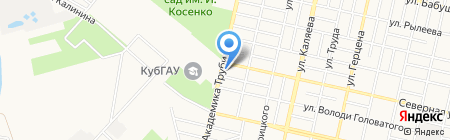 iService на карте Краснодара