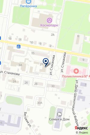 ПТФ СТРЕЛЯЕВ А.Г. на карте Орехово-Зуево