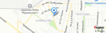 Оптово-розничная компания на карте Краснодара