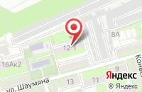 Схема проезда до компании Десна в Таганроге