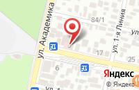 Схема проезда до компании НефтеГазИнвест в Трусово