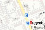 Схема проезда до компании Омега в Яблоновском