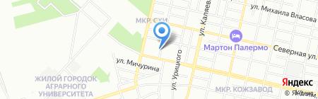 Центр повышения квалификации по ветеринарной фармации на карте Краснодара