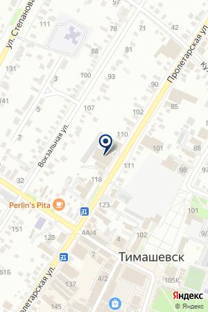 ОХРАННОЕ ПРЕДПРИЯТИЕ М.Л.Б.-КУБАНЬ на карте Тимашевска