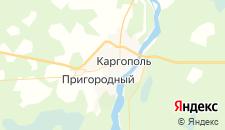 Отели города Каргополь на карте