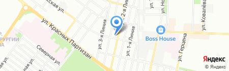 BitCar на карте Краснодара