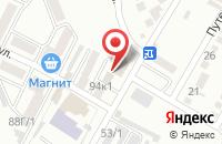 Схема проезда до компании Альянс-СКМ в Яблоновском
