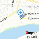 Дент-Смайл на карте Краснодара