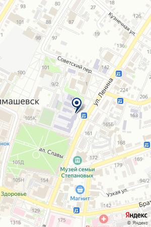 КРАСНОДАРСКИЙ ФИЛИАЛ ВСК на карте Тимашевска
