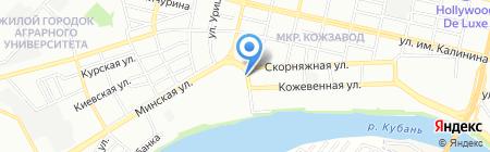 Bmw на карте Краснодара