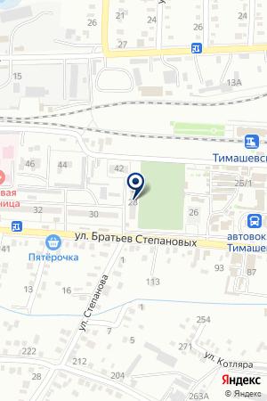 ШВЕЙНОЕ ПРЕДПРИЯТИЕ ГОЛОДОВ С.В. на карте Тимашевска