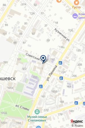 РЕКЛАМА НА РАДИО на карте Тимашевска