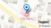 Компания City Clinic на карте