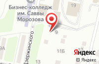 Схема проезда до компании Профодежда в Орехово-Зуево
