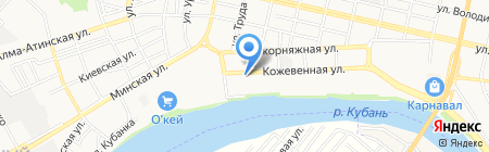 2 скорпиона на карте Краснодара