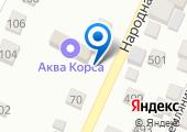 Станция Народная на карте