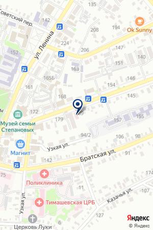 ГАНЗЮК Е.Н. НОТАРИУС на карте Тимашевска