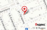 Схема проезда до компании Абакан в Яблоновском