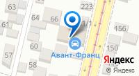 Компания Авант-Юг на карте
