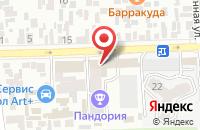 Схема проезда до компании Ремтвес в Краснодаре