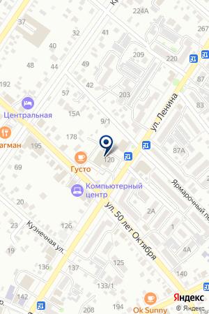 ДОМ КУЛЬТУРЫ на карте Тимашевска