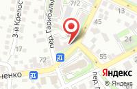 Схема проезда до компании Югтелеком в Таганроге