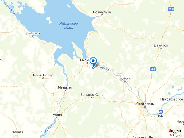 село Аксёново на карте