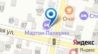 Компания Мартон Северная на карте