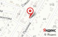 Схема проезда до компании Шиномонтажная мастерская в Перекатном