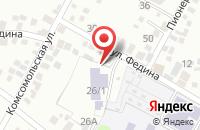 Схема проезда до компании Йога центр Сакура в Яблоновском