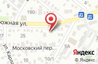 Схема проезда до компании Бисквит в Яблоновском