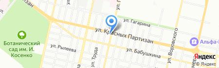 Сборы в горы на карте Краснодара