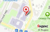 Схема проезда до компании Протон-Ссс в Таганроге