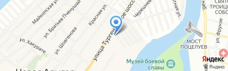 Орбита на карте Краснодара