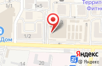 Схема проезда до компании Омни Байк-Юг в Краснодаре