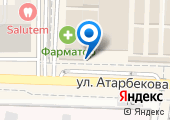Садовый центр на Атарбекова на карте