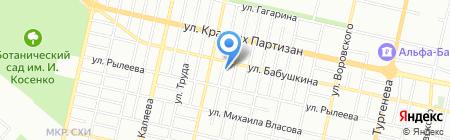 Профильные Технологии на карте Краснодара