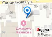 Джакомо Казанова на карте