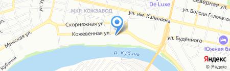 Gorod на карте Краснодара