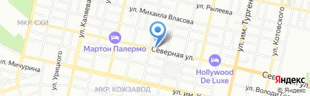 Атолл на карте Краснодара