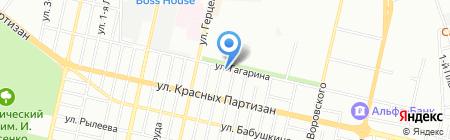 Аванта М на карте Краснодара