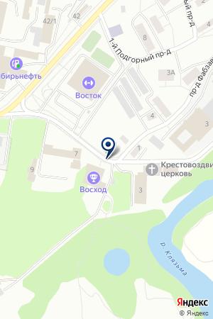 КАФЕ ИМПЕРИЯ ВКУСА на карте Орехово-Зуево