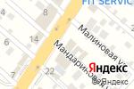 Схема проезда до компании Баня-Центр в Перекатном