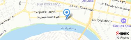Витаминка на карте Краснодара