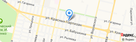 Наблюдатель на карте Краснодара